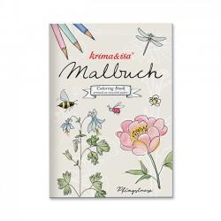 Malbuch Gartenliebe