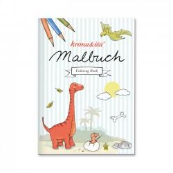 Malbuch Dinosaurier