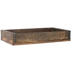 Kiste mit Metallbeschlag UNIKA