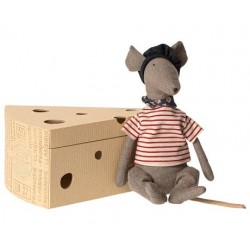 Maileg Ratte In Cheese Box...