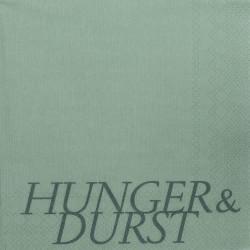 Servietten Hunger & Durst